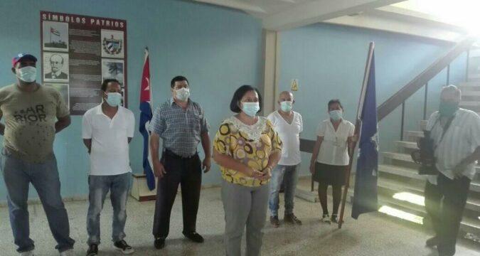 Bandera Proeza laboral a transportistas santiagueros