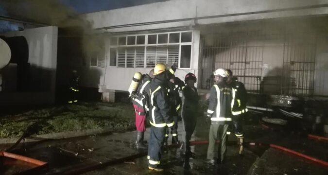 incendio politécnico Pepito Tey