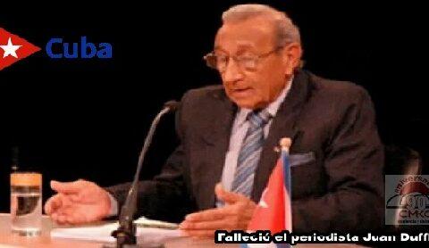 Falleció Juan Dufflar, fundador de la Mesa Redonda y Cubadebate