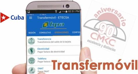 Nueva versión de Transfermóvil permite solicitud de tarjetas en MLC