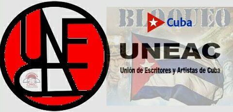 UNEAC contra el terrorismo y bloqueo a Cuba