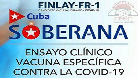 Soberana 01, primer candidato vacunal cubano contra la COVID-19 con autorización para ensayos clínicos