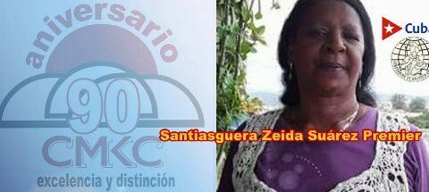 Santiaguera Zeida Suárez Premier tiene mucho que contar como mujer federada en Revolución. Imagen web: Santiago Romero Chang.