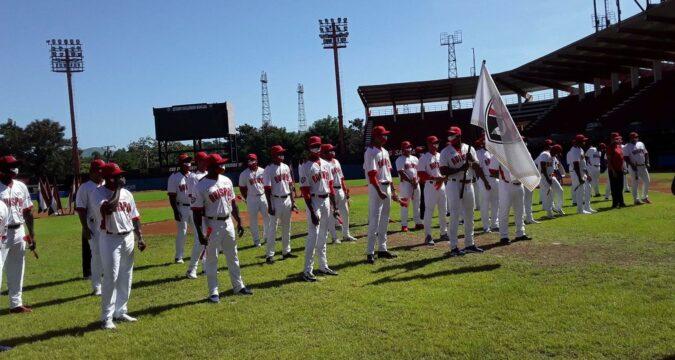 Abanderamiento equipo Santiago de béisbol
