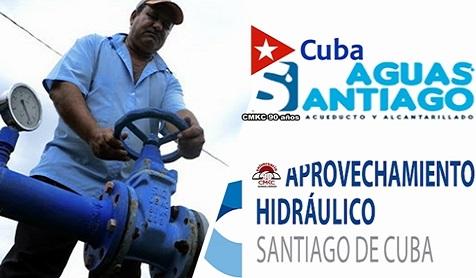 Aguas Santiago por mejor suministro del vital líquido. Imagen: Santiago Romero Chang.