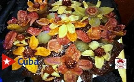 Dulce de Guayaba, plato criollo muy gustado en el oriente.