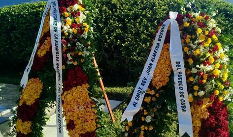 Rinden homenaje Juan Almeida Bosque en Tercer Frente