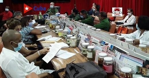 Consejo de Defensa Provincial en Santiago de Cuba