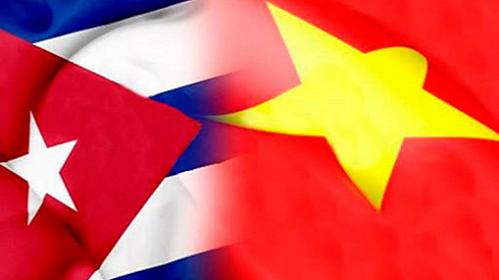Amistad Cuba y Vietnam