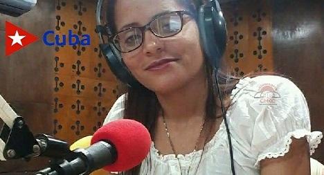 Iviana Ortiz Mayet, , locutora y estomatóloga, Premio Lloga in Memoriam