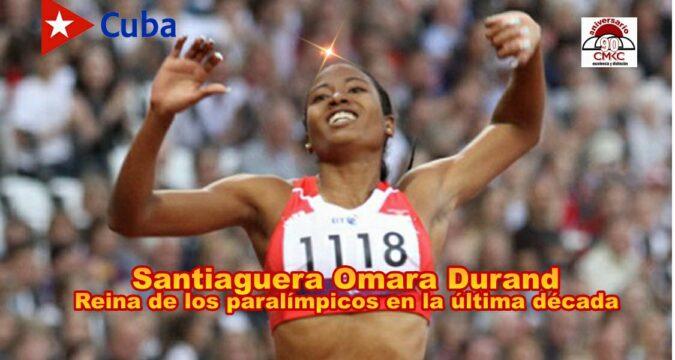 Santiaguera Omara Durand es la reina de los paralímpicos en la última década