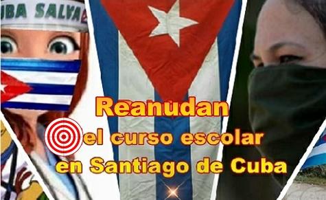 Reinicio del Curso Escolar en la provincia Santiago de Cuba