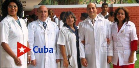 Profesores de la Universidad Médica de Santiago de Cuba