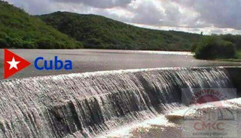 Situación de los embalses en la provincia Santiago de Cuba.