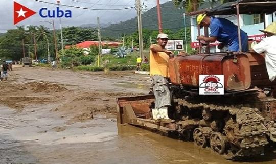 Dejó Zeta afectaciones por lluvias de hasta de 195 mm³ en Guamá