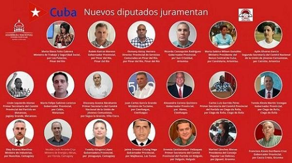 20 nuevos diputados electos en sus respectivas Asambleas Municipales firmaron la juramentación