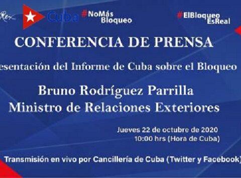"""""""Necesidad de poner fin al bloqueo económico, comercial y financiero impuesto por los Estados Unidos de América contra Cuba"""""""