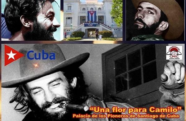 """Palacio de los Pioneros de Santiago de Cuba """"Una flor para Camilo"""""""