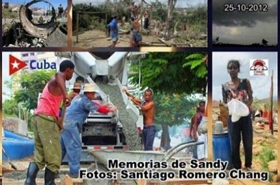 Tras la devastación surgió un amplio movimiento popular por la rehabilitación general de Santiago de Cuba. Foto: Santiago Romero Chang