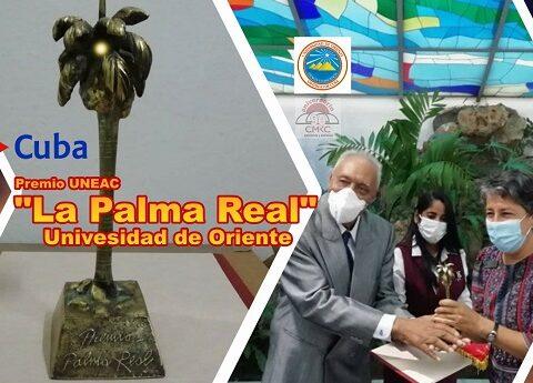 """Premio UNEAC """"La Palma Real"""" a la Universidad de Oriente"""
