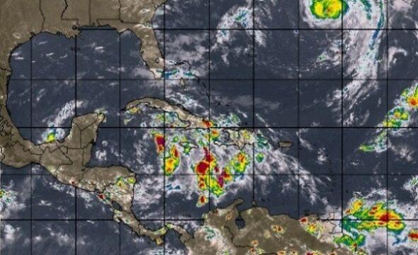 Chubascos, lluvias y tormentas eléctricas en occidente y centro