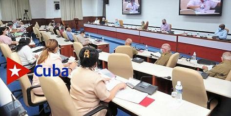 Presidió Raúl reunión del Buró Político