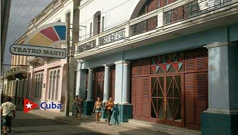 El emblemático Teatro Martí reabrió sus puertas en el centro histórico de esta ciudad