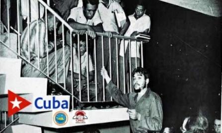 Visita y Alocución del Che a Santiago y su alocución por CMKC