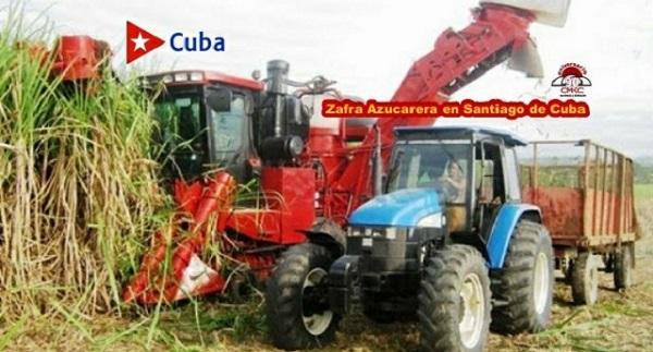 Zafra Azucarera en la provincia Santiago de Cuba.