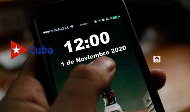 Hoy Vigente Horario Normal en Cuba desde las 12 de la noche