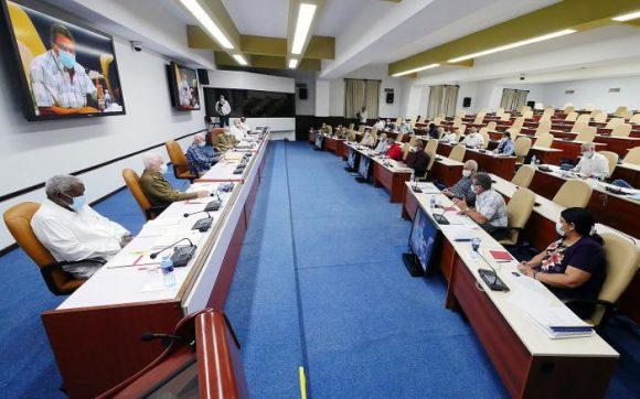 Se reunió Buró Político para analizar documento del Congreso del Partido