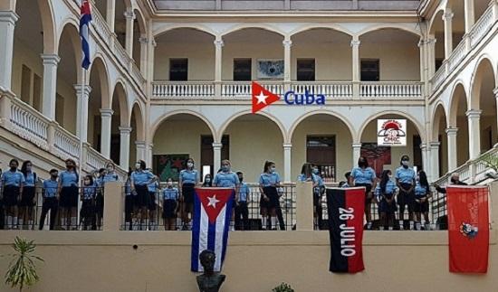 Pre Mendive. Inicio del Curso Escolar en Santiago de Cuba. Foto: Santiago Romero Chang.