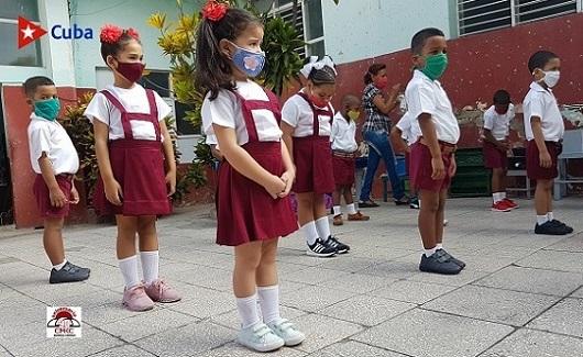 Inicio del Curso Escolar en Santiago de Cuba. Foto: Santiago Romero Chang.