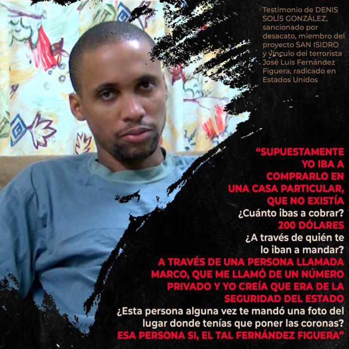 Denis Solís González, presentado como un joven artista censurado Foto: Tomada de Facebook