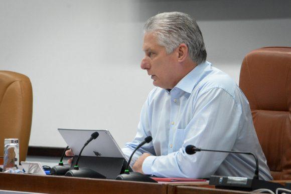 Miguel Díaz Canel Bermúdez, presidente de Cuba.