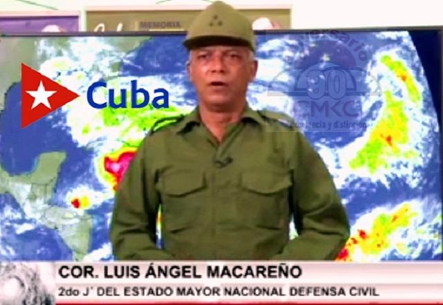 Coronel Luis Ángel Macareño, Defensa Civil Cubana