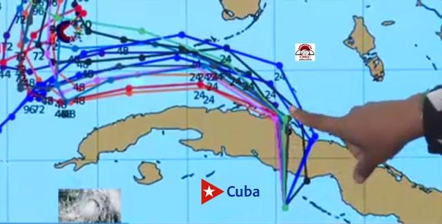 Estado del Tiempo ante presencia de Eta en Cuba. Domingo, 8 de Noviembre 2020