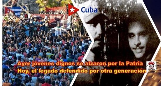 Cuba es sagrada y como hace 62 años la defenderemos