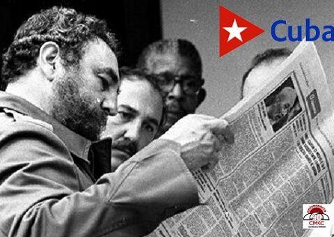 Fidel, lector voraz, amante de la prensa.