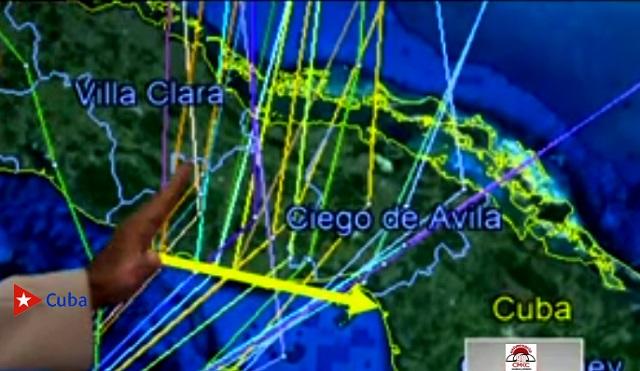 Nuevas precisiones da a conocer el Doctor José Rubiera sobre la tormenta tropical Eta