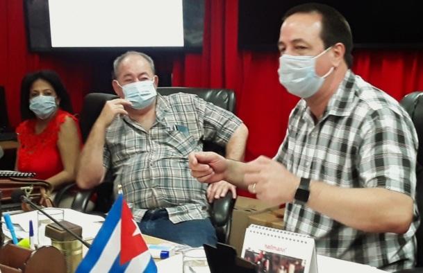 Presidió Ministro de Salud Pública reunión sobre COVID-19 en Santiago de Cuba