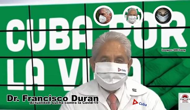 Actualidad sobre casos de la covid-19 en Cuba. Dr Francisco Duran García, director nacional de epidemiología. Imagen: Santiago Romero Chang