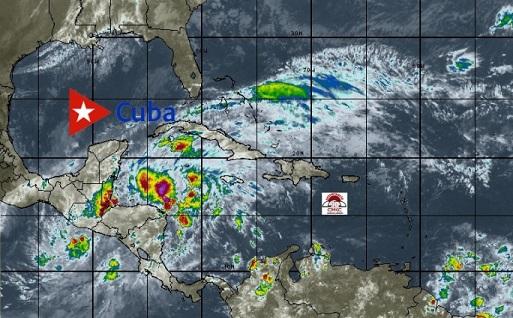 Eta provoca paso a la Fase informativa en el occidente de Cuba. Pronostican nublados con chubascos y lluvias durante la mañana principalmente en zonas de la costa norte.