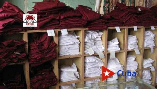 Reorganizan ventas de uniformes escolares para el nuevo curso en Santiago de Cuba