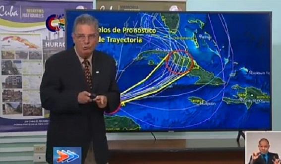 Advierte Dr. José Rubiera sobre peligros de Eta para Cuba