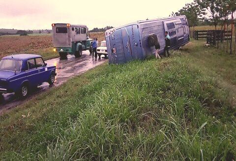 Accidente de tránsito deja 26 lesionados en Romana 7, Contramaestre, Santiago de Cuba