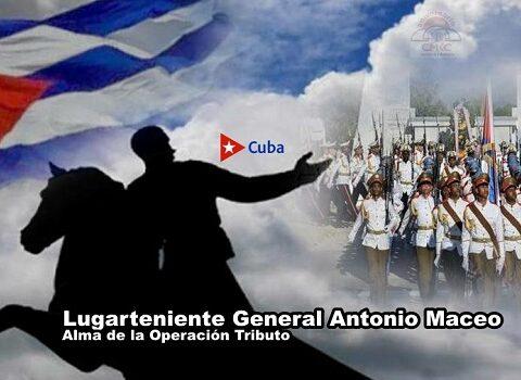 A 124 años de la caída en combate del Lugarteniente General Antonio Maceo y los 31 de la Operación Tributo