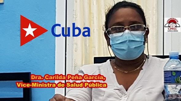 Carilda Peña García, Vice-Ministra de Salud Pública
