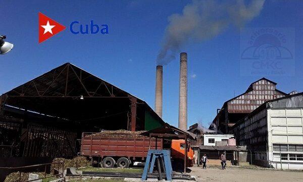 Inició central azucarero Dos Ríos de Palma Soriano zafra 2020-21