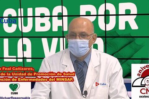 Informa el Minsap casos de COVID-19 en Cuba